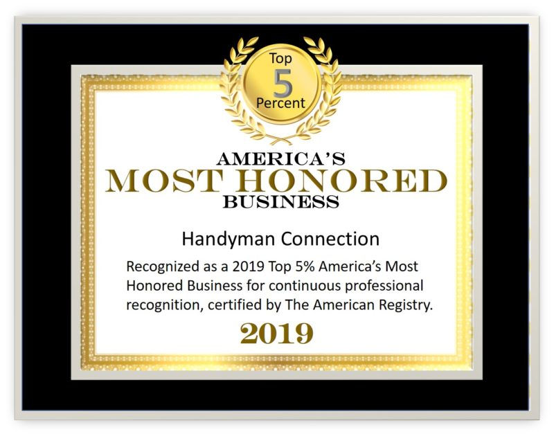 2019 Americas Most Honored Top 5%