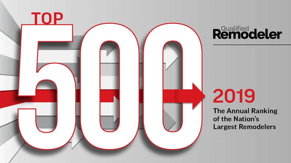 Qualified Remodelers Top 500 in 2019